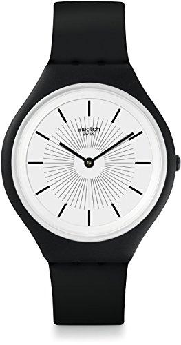 Swatch Reloj Digital para Unisex de Cuarzo con Correa en Silicona SVUB100