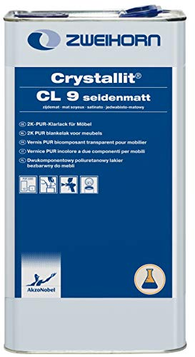 Zweihorn Crystallit 2K-PUR Klarlack CL 9 seidenmatt (5 Liter)