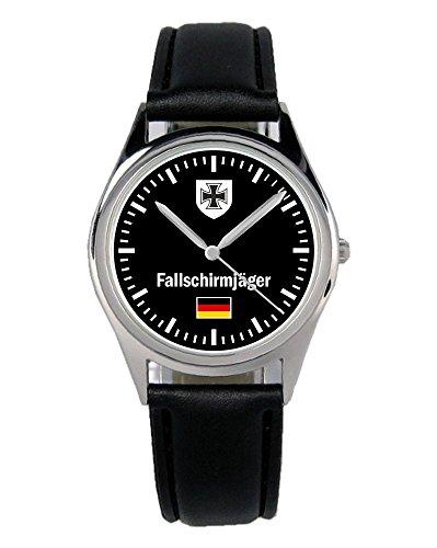 Soldat Geschenk Artikel Bundeswehr Fallschirmjäger Uhr B-1028