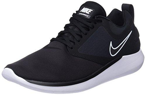 Nike Mens LUNARSOLO Black Black Anthracite White Size 11.5
