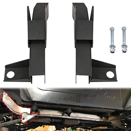 Tiewards Driver and Passenger Front Trail Arm Repair Kit for Jeep Wrangler TJ 1997-2006