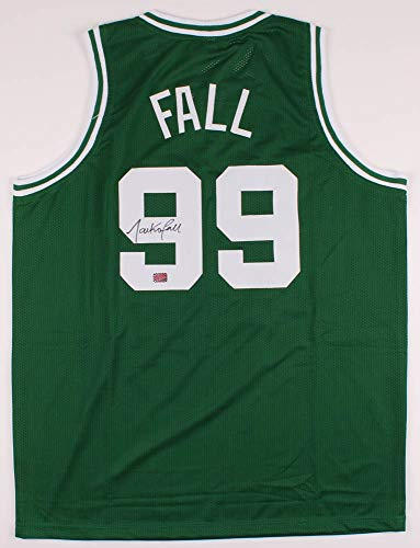 Tacko Fall Boston Celtics Signed Autographed Custom Green Jersey