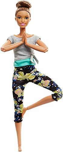 Barbie Bambola Snodata, 22 Punti Snodabili per Infiniti Movimenti, Multicolore, Giocattolo per Bambini di 3 + Anni FTG83