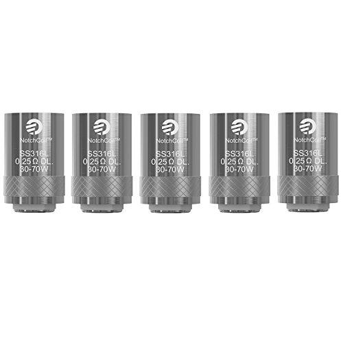 Joyetech Cubis (Pro) NotchCoil Verdampferköpfe 0.25 Ohm 5er Pack