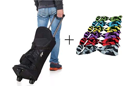 bolsa de transporte para hoverboard de 6,5 o 8 pulgadas + Funda de silicona 6,5
