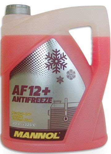 MANNOL 15718400500MN Longlife Antifreeze AF12+ -40 Kühlerfrostschutz Kühlmittel 5L 157757