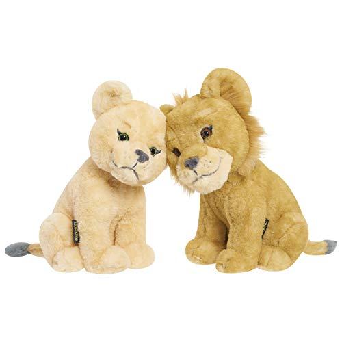 Unbekannt Lion King Touching Heads Plush Simba & Nala