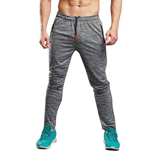 Chándal Hombre Pantalones Deportivos Casuales Largos de Hom