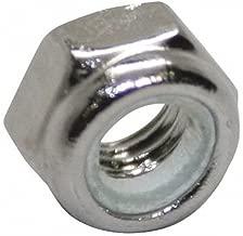M10-1.50 Nylon Insert Lock Nut, NL-19(SM) Finish, A4 Stainless Steel, Right Hand, DIN 985, PK25