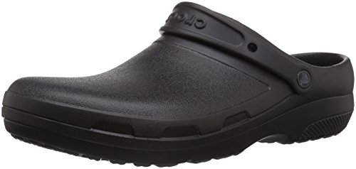 Crocs Specialist II Clog, Black, 10 US Women / 8 US Men