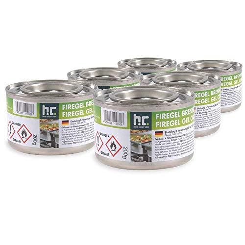 6 x 200g Brennpaste - für Gastronomie und Privathaushalte - zum Warmhalten von Speisen - von Höfer Chemie