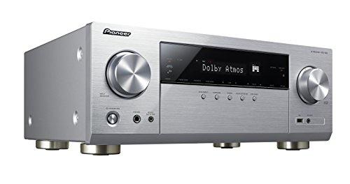 Pioneer VSX-932-S 7.2 Netzwerk AV-Receiver mit Dolby Atmos, Multiroom und integriertem WiFi & Bluetooth unkomplizierten Musik-Streaming silber
