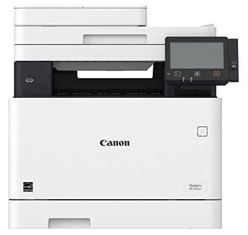 Canon レーザープリンター A4カラー複合機 Satera MF733Cdw(27PPM/両面印刷/両面ADF/有線・無線LAN/FAX対応)