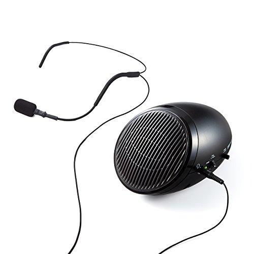 サンワダイレクト『ハンズフリー拡声器400-SP062』