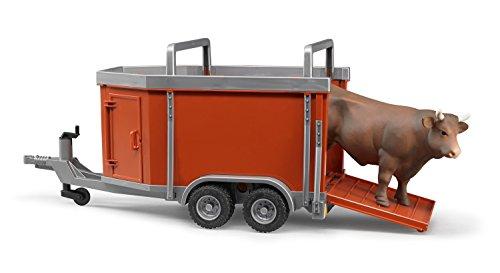 Bruder Cattle Trailer including Cattle (1 pc. Color may vary)
