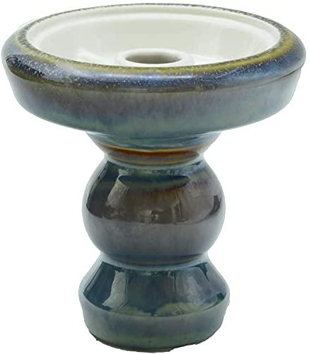 Afoosoo Shisha Cabeza Premium Ton Phunnel Shisha Bowl con esmaltado, perfecto trabajo con sistema de gestión del calor y láminas