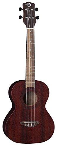 Luna Guitars Luna Uke Vintage Mahogany Tenor - Red Satin, VMT RDS