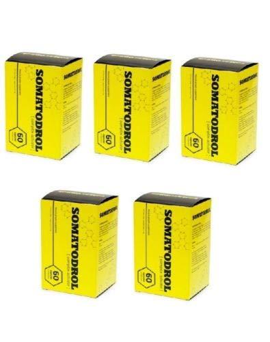 5x60Kapseln Somatodrol, Nahrungsergänzungsmittel zum Muskelaufbau