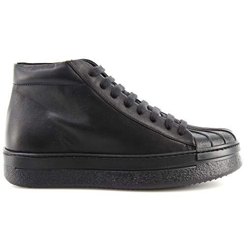 Dames Schoenen Sneakers PINKO Shine Baby Shine Trasimeno 1 Z99 Zwart Leer Nieuw