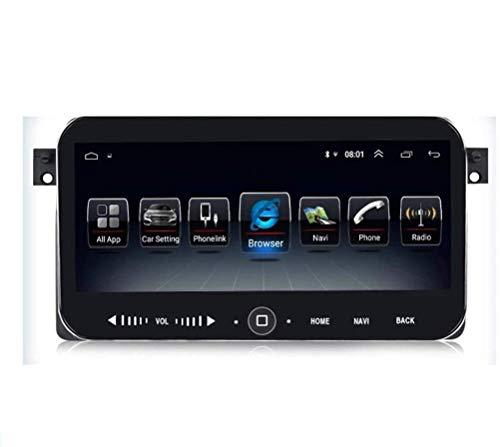 rzoizwko Radio estéreo de coche Android con doble DIN compatible con BMW E46 E39 1998-2005 navegación GPS de 10.2 pulgadas, reproductor multimedia y receptor de vídeo con cámara trasera