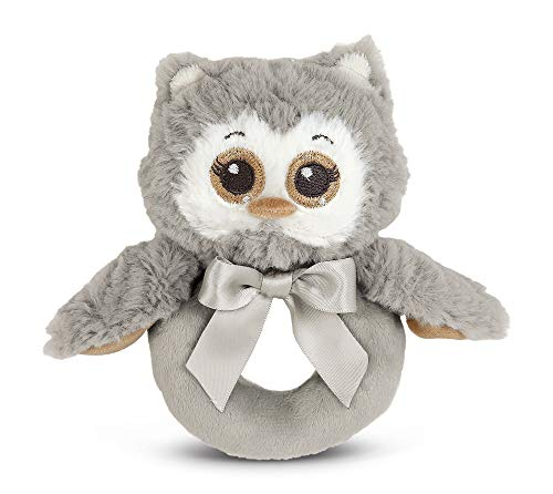 Bearington Collection Hochet Peluche Hibou Lil 'Owlie pour Mixte bébé 5.5\