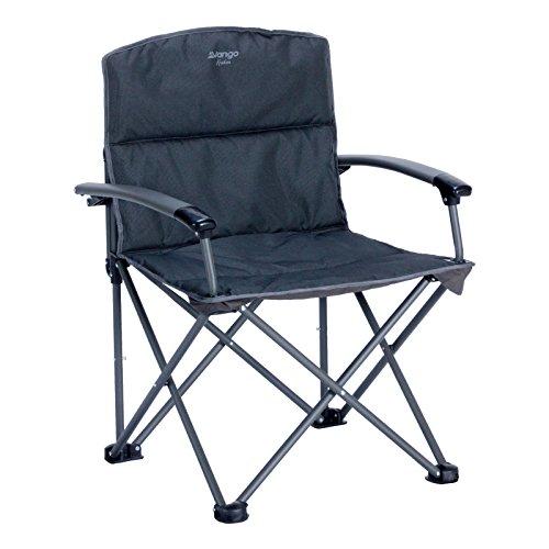 Vango Kraken 2 Oversized Folding Chair, Grey, Medium