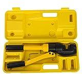 SucceBuy 4-16mm Pince Hydraulique Manuel Coffret de Outil à Main de Sertissage Presse à Sertir Hydraulique