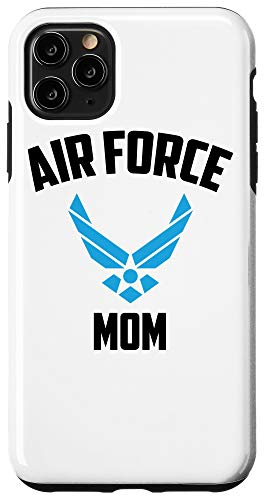 iPhone 11 Pro Max Cool Air Force Mom Gift   Best Proud Military Veteran Women Case
