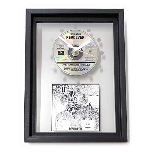 THE BEATLES - Revolver: GERAHMTE CD-WANDUHR/Exklusives Design