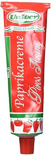 Paprikacreme Rotes Gold (Piros Arany), 160g Tube mild - Delikatess Paprikacremeverschiedene Sorten