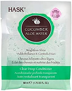 Hask Cucumber Aloe Water Clear Deep Conditioner 1.75oz (1PCS)