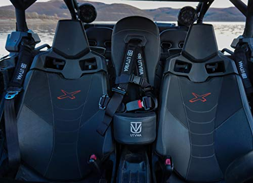 Maverick X3/X3 MAX Bump Seat with 4-point Harness | Center Seat | Middle Seat | Kid Seat | Hump Seat