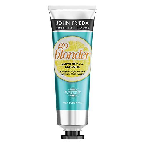 John Frieda Sheer Blonde Go Blonder Lemon Miracle Maske für blondes Haar, 100 ml