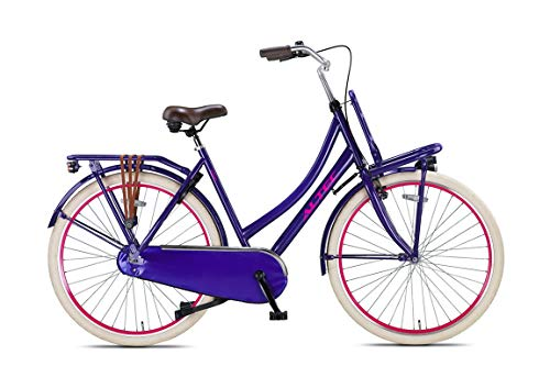 Hoopfietsen 28 Zoll Hollandfahrrad Damen Altec Urban Single Speed Jeans 50 cm Rahmengröße