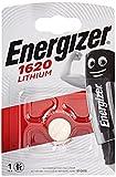Energizer E300163800 CR1620: Pila Botón 3V de Litio, Plata