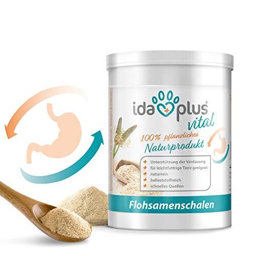 Ida Plus - Flohsamenschalen-Pulver - 700g - fein gemahlen - vegan - glutenfrei - zur...