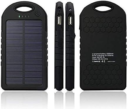 5000 mah Margoun Solar power bank charger HTC ONE M8, M9, M9, E9, 820, 620, EYE, E8 BLACK
