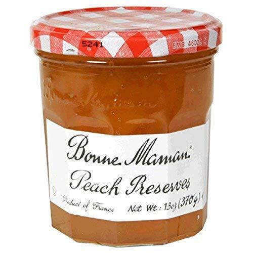 Bonne Maman Preserve, Peach, 13 oz