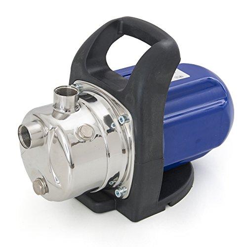 ARKSEN 1200W Stainless Shallow Well Water Booster Pump Transfer Home Garden Irrigation 925GPH