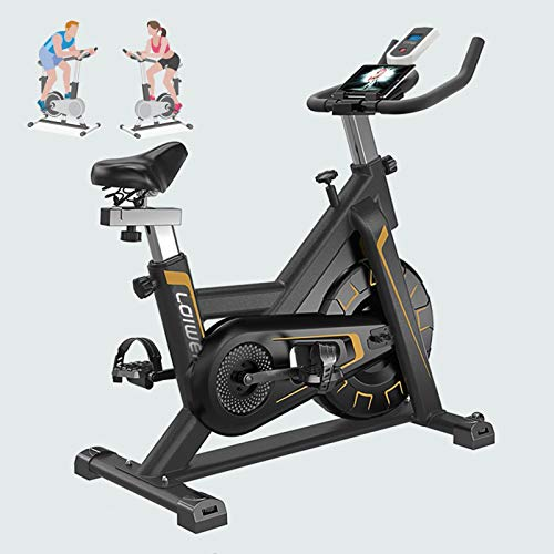 IJNBHU Bici entrenamineto Fitness con sillín y Manillar Aju