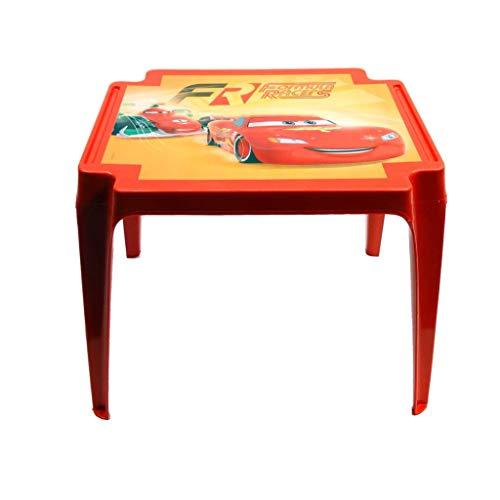 Disney AR381/11154 - Mesa Infantil, 50 x 50 x 45 cm, Color Rojo