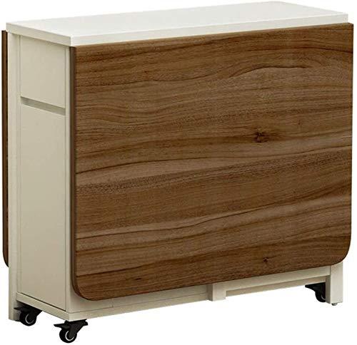 Mesa plegable se puso del lado del espacio Zhuojiao ajustables para el ahorro mesa de la cocina o de la mesa,A