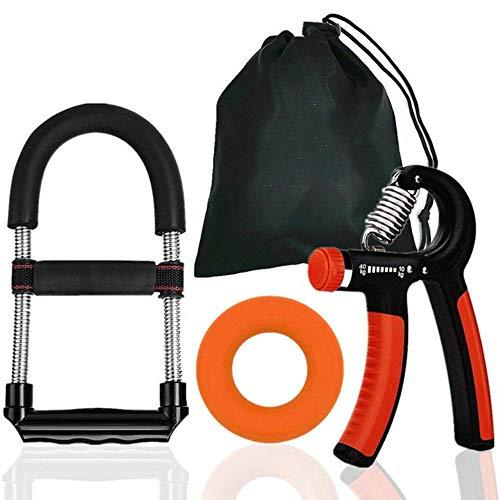 Zzxx 3-delige hand-pols booster, onderarm grip oefenset, verstelbare handgreep trainer fitnessapparatuur