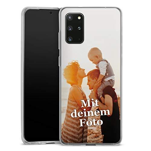 DeinDesign Silikon Hülle kompatibel mit Samsung Galaxy S20 Plus Handyhülle Case Selbst Gestalten Personalisieren Zum Anpassen