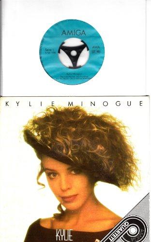 KYLIE MINOGUE / The Loco-Motion / It´s No Secret / I Schould Be So Lucky / Got To Be Certain / 1989 / Bildhülle / AMIGA QUARTETT # 556198 / Deutsche Pressung / 7