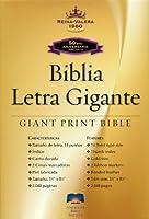 Santa Biblia: Reina-Valera 1960, Negro, Piel fabricada Letra Gigante / Black Bonded Leather Giant Print
