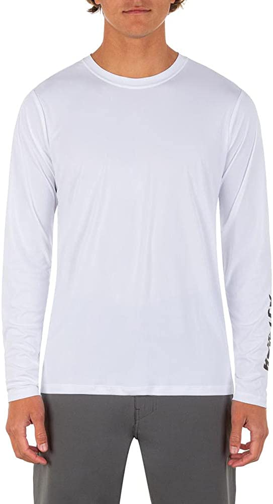 Hurley Men's H2o-dri Hybrid UPF Long Sleeve Shirt