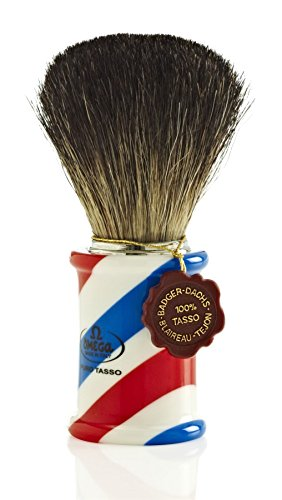 Omega 6736 Pure Badger Hair Shaving Brush by Omega