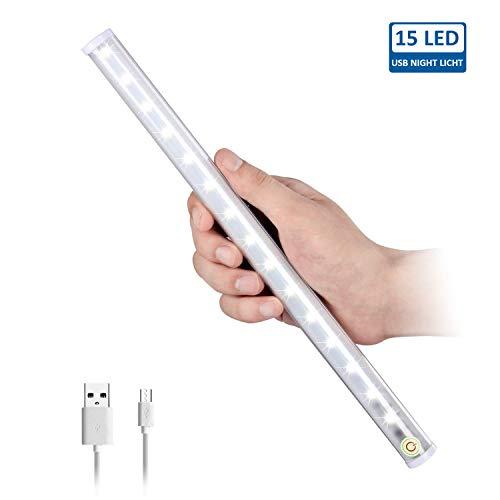 LED Spiegelleuchte zum Schminken Hogartech Schminklicht für Spiegel Make Up, 6500 K Tageslicht Dimmbar portable für Schrank Zuhause, Bad,Unterwegs, Outdoor, Camping