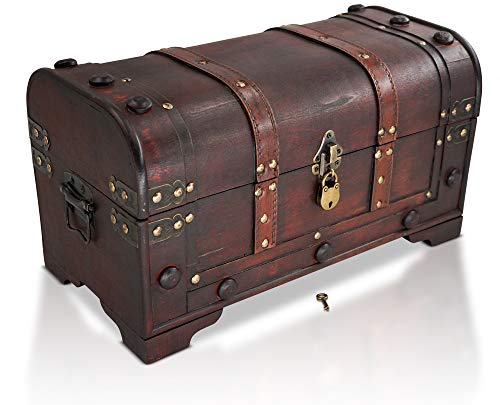 Shiver me timbers, it's a pirate treasure chest